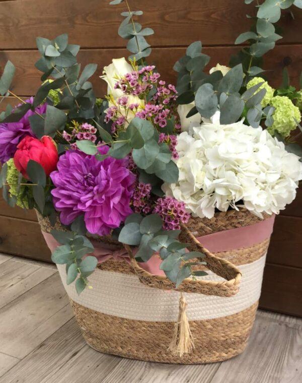 La Flor de mi Besana - Productos - Cesta - Grande